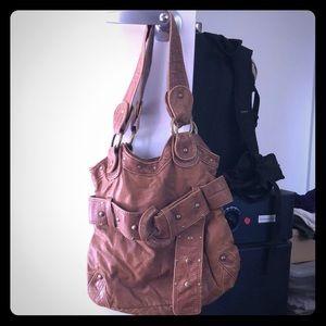 Leather Hobo Bag/ Purse